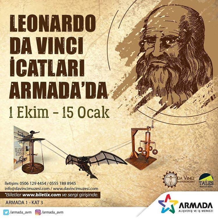 Leonardo Da Vinci İcatları Armada'da!