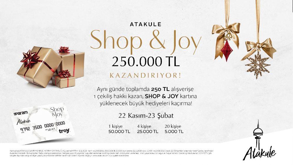 Atakule 250.000 TL Shop & Joy Kart Çekiliş Kampanyası!