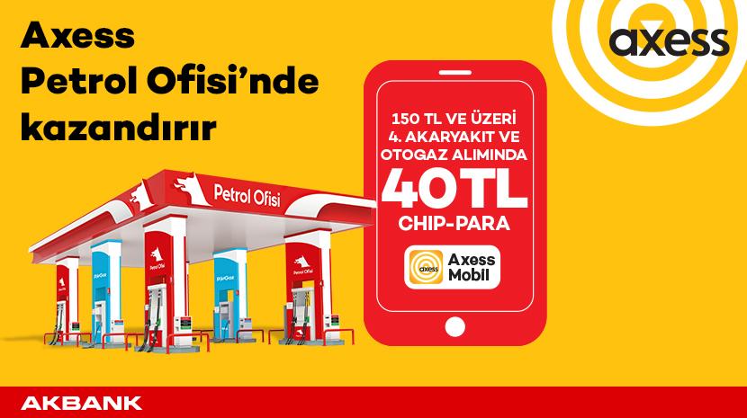 Petrol Ofisi'nde 4 Kez 150 TL'ye 40 TL'ye Varan Chip-Para!
