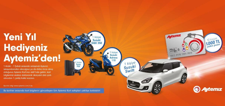 Aytemiz Suzuki Swift Çekiliş Kampanyası!