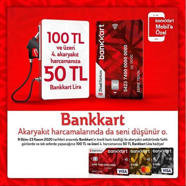 Bankkart Akaryakıt Kmpanyası!