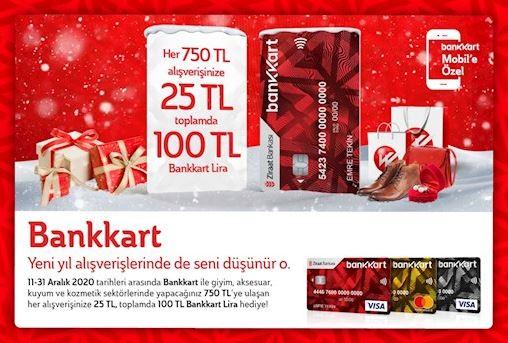 Bankkart yeni yıl kampanyası!