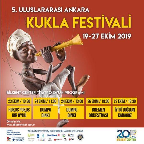Bilkent Center 5. Uluslararası Ankara Kukla Festivali