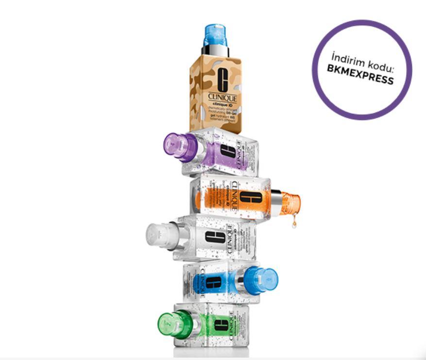 BKM Express ile Clinique'te tüm ürünlerde %25 indirim!