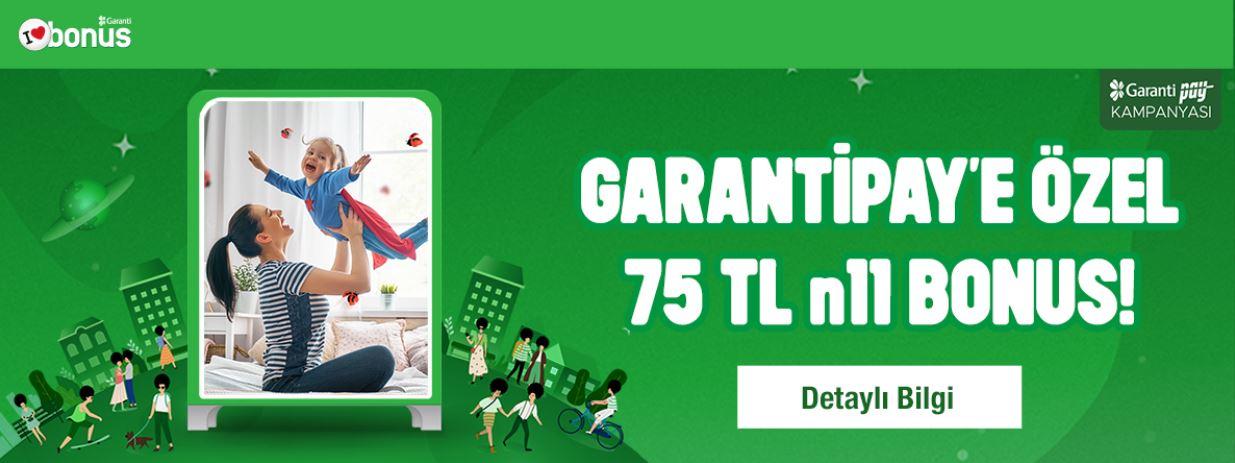 75 TL n11 Bonus Fırsatı!