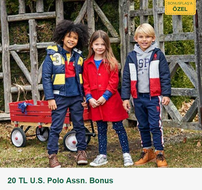 BonusFlaş ile 20 TL U.S. Polo Assn. Bonus!
