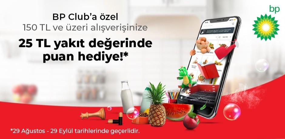 BP Club istegelsin Kampanyası!