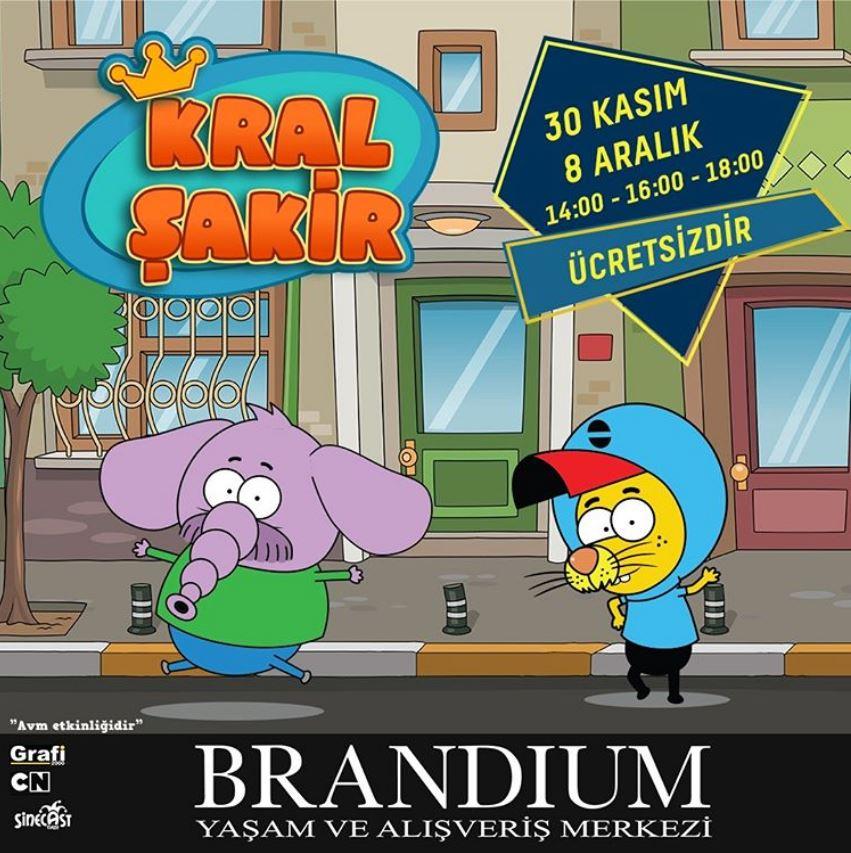 Brandium AVM Kral Şakir Müzikal Etkinliği!