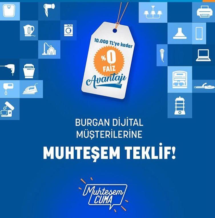 Yukko'da Burgan Bank Online Kredi İle %0 Faiz Ödeme!