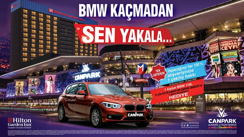 CanPark AVM BMW Çekiliş Kampanyası!