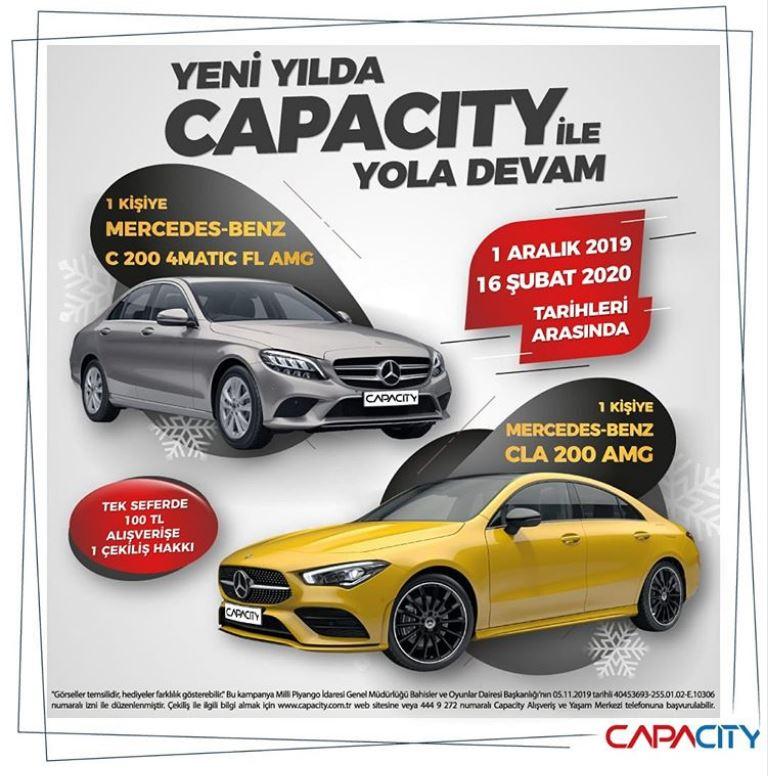 Capacity AVM Mercedes-Benz AMG Çekiliş Kampanyası!
