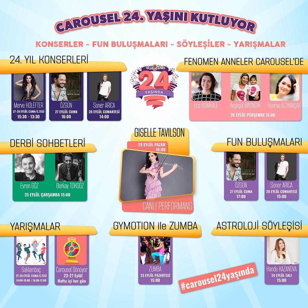 Carousel 24. yaş Kutlamaları!
