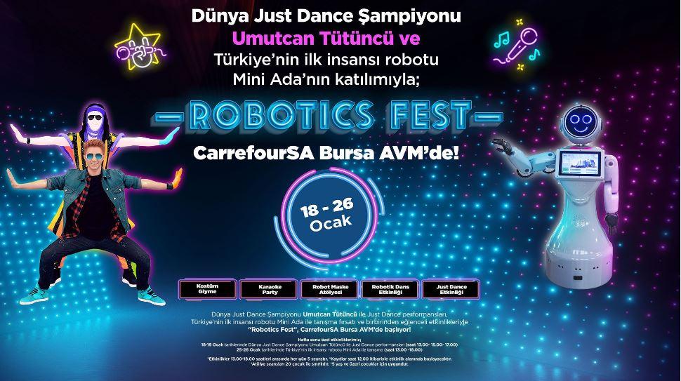 Robotics Fest CarrefourSA Bursa AVM'de!