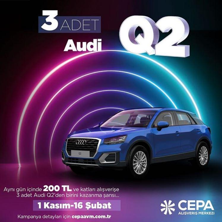 Cepa AVM Audi Q2 Çekiliş Kampanyası!
