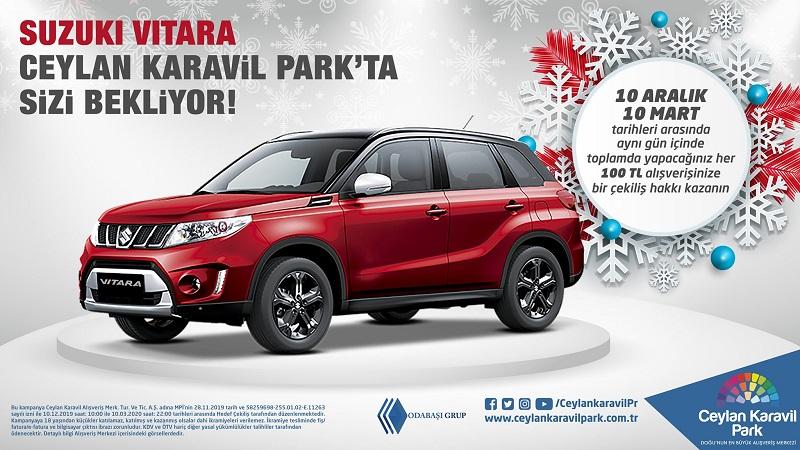 Ceylan Karavil Park Suzuki Vitara Çekiliş Kampanyası!