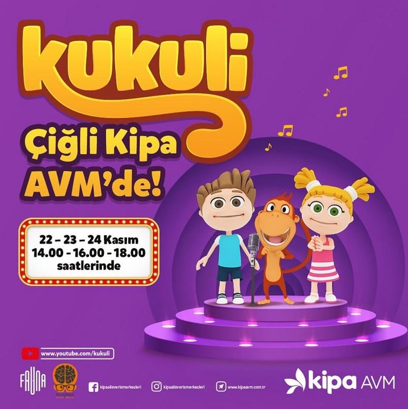 Çiğli Kipa AVM Kukuli Müzikal Etkinliği!