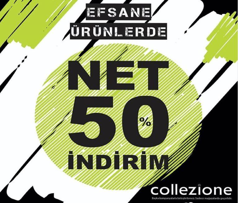 Collezione Efsane Ürünlerde İndirim Kampanyası!