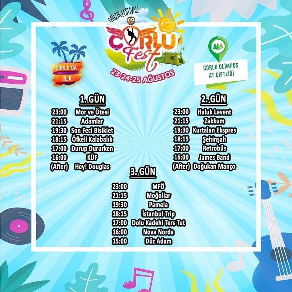 Çorlu Fest Müzik Festivali!