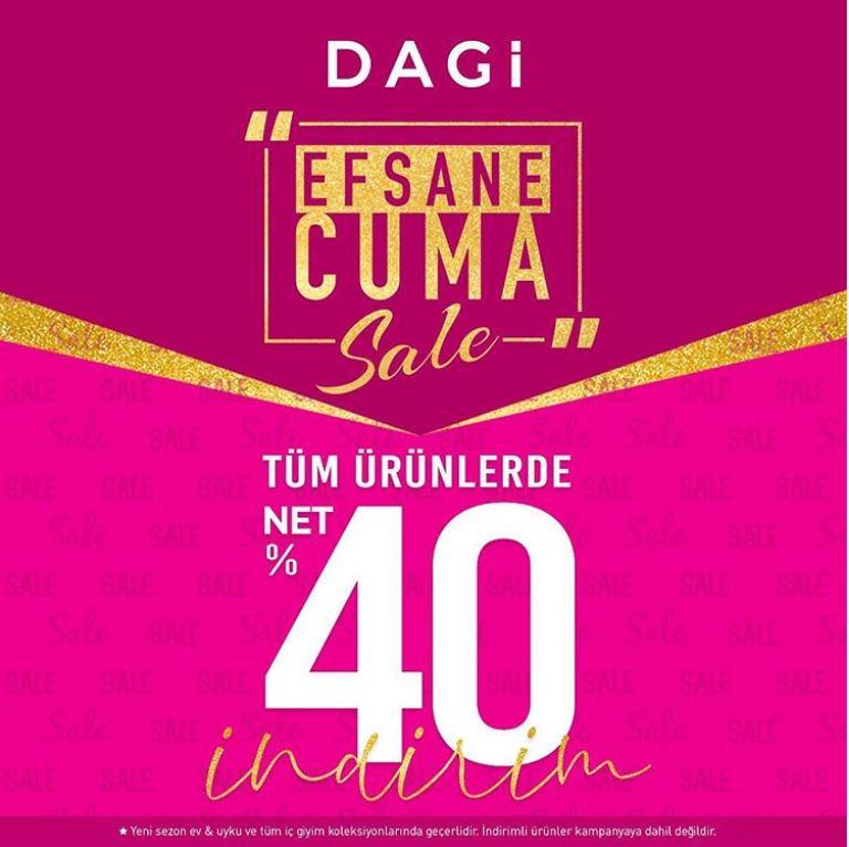 Dagi Efsane Cuma Sale Kampanyası!