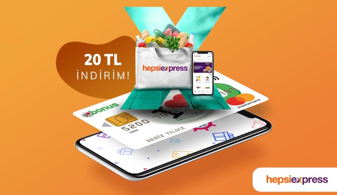 Ramazan'da Hepsiexpress alışverişlerinize destek Deniz Bonus'tan.