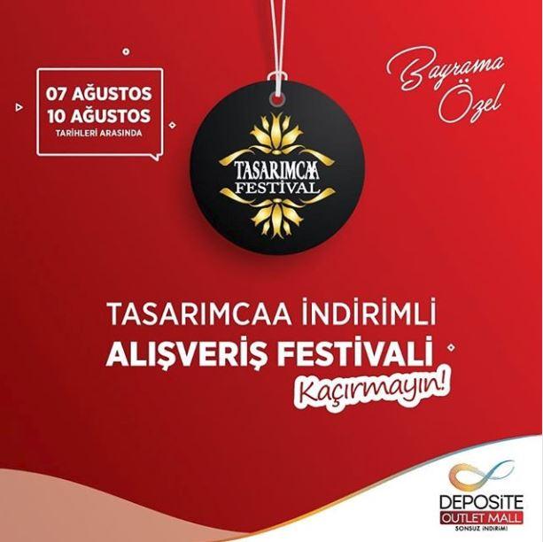 Deposite Outlet Tasarımcaa İndirimli Alışveriş Festivali!