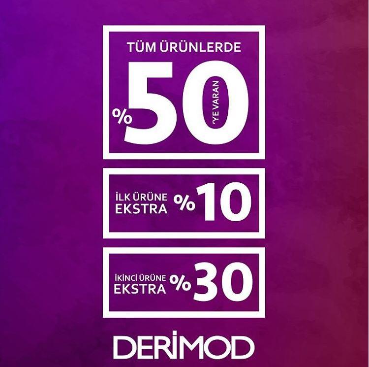 Derimod'dan ek %30'a varan indirim fırsatı!