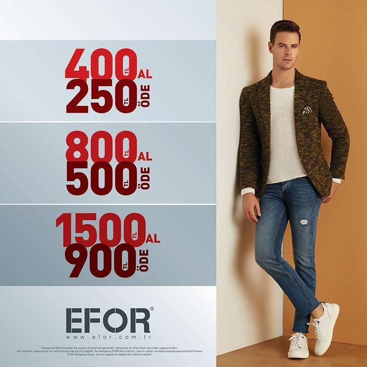 Efor'da 600 TL'ye Varan İndirim Fırsatı!