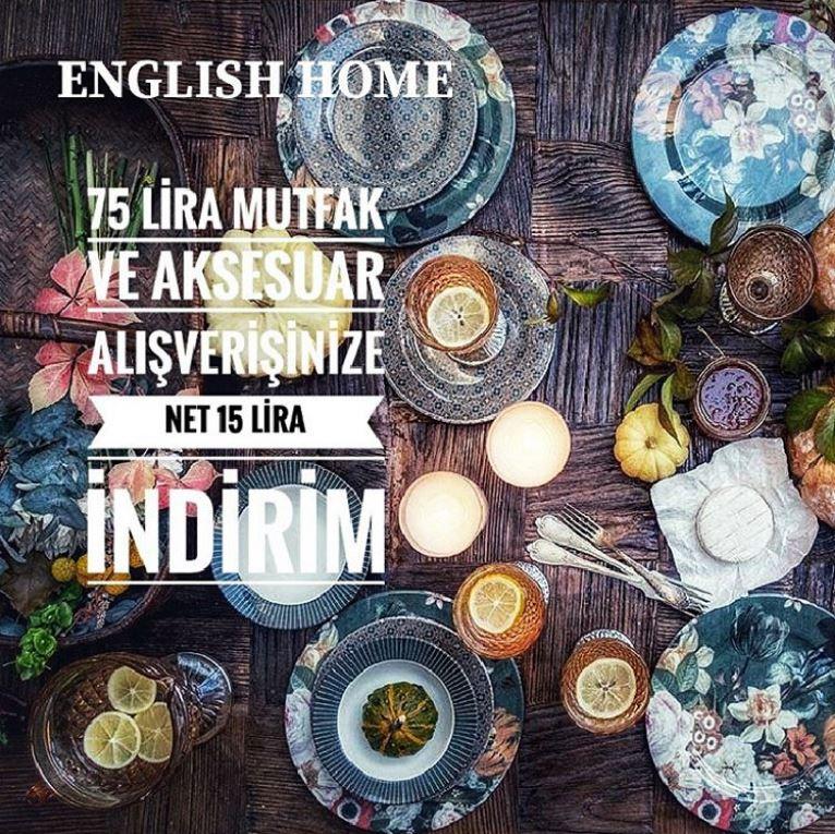 Öğretmenlerimize en güzel hediyeler English Home'da!