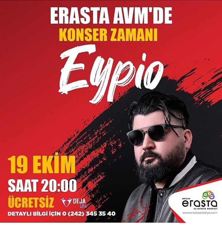 Erasta Antalya Eypio Konseri!