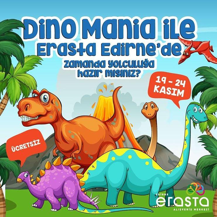 Erasta Edirne Dino Mania Etkinliği!