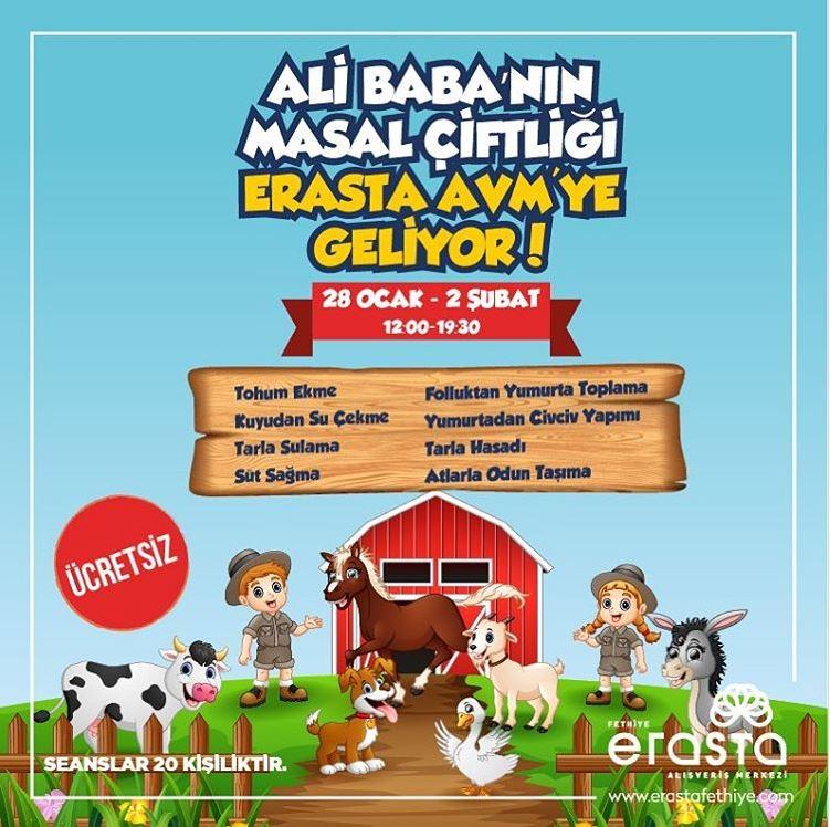 Erasta Fethiye Ali Baba'nın Masal Çiftliği Etkinliği!