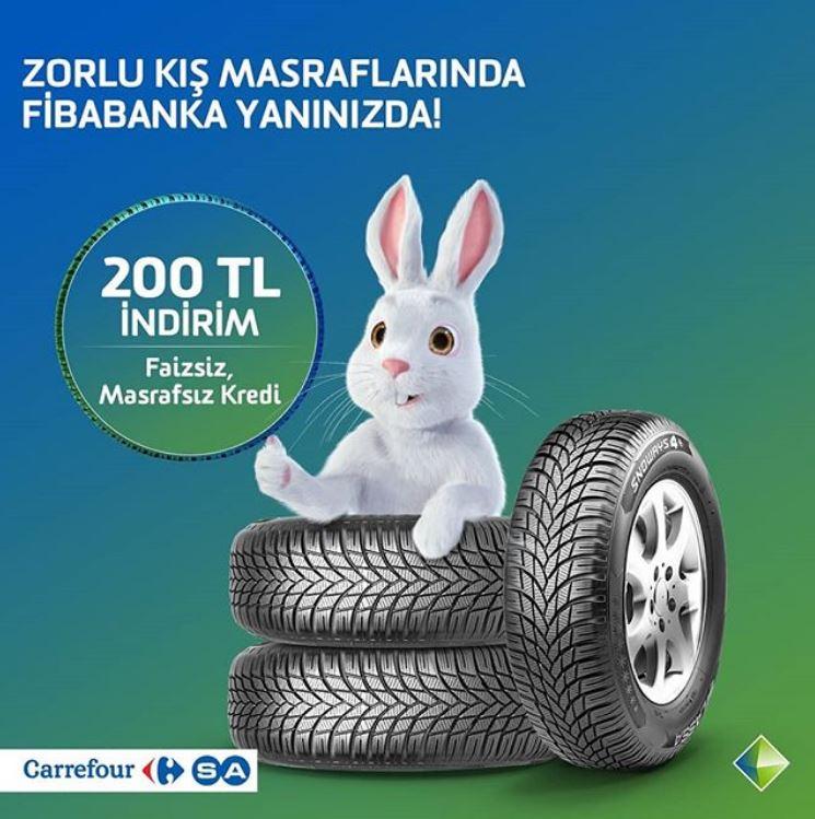 Fibabanka ile CarrefourSA 200 TL indirim fırsatı!