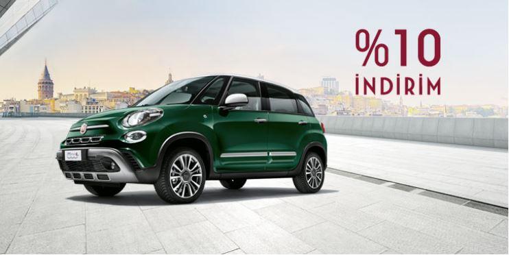 Fiat 500L %10 indirim Fırsatı!