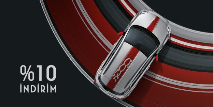 Fiat 500X SUV %10 İndirim Fırsatı!