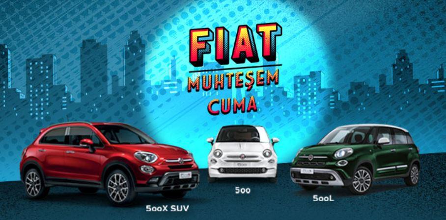 Fiat Muhteşem Cuma 500 Ailesi İndirim Kampanyası!
