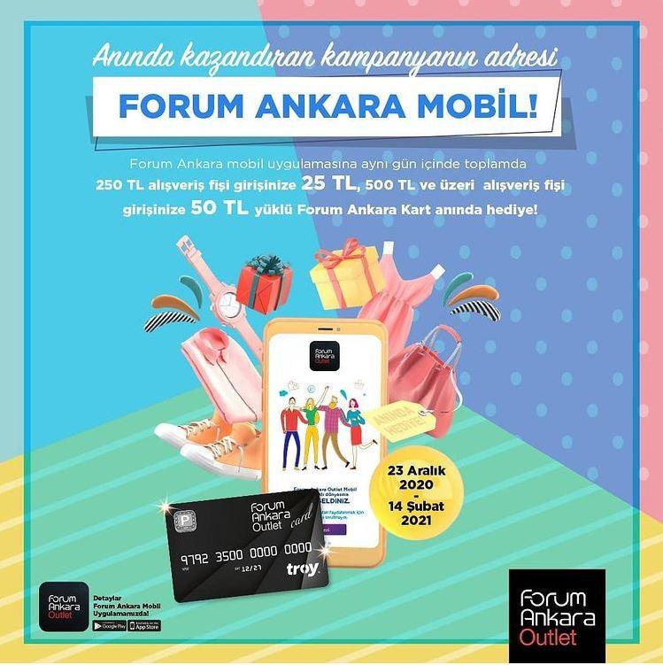 Forum Ankara Mobil'in avantajlar dünyası ile siz de anında kazanın!