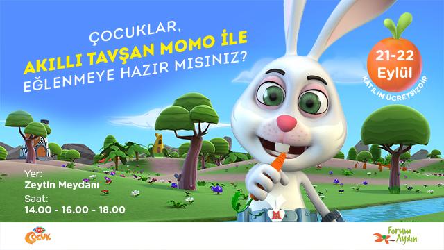 Forum Aydın Akıllı Tavşan Momo Müzikal Etkinliği!