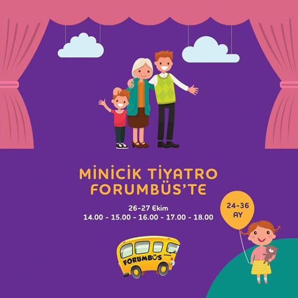 Forum Bornova Minicik Tiyatoro Etkinliği!