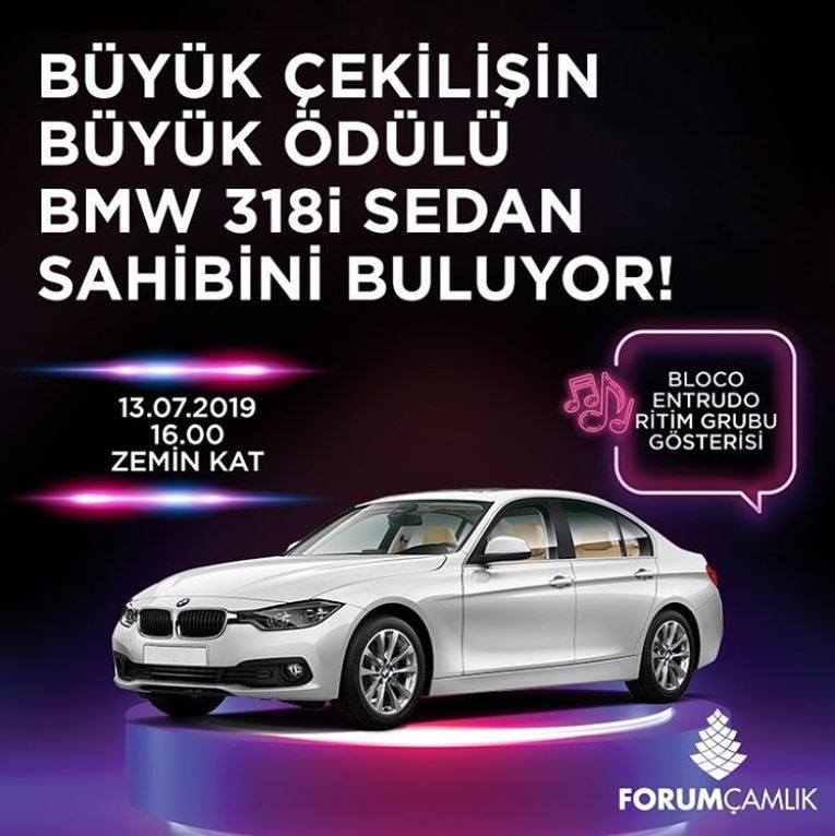 Forum Çamlık BMW 318i Çekilişi Gerçekleşiyor!
