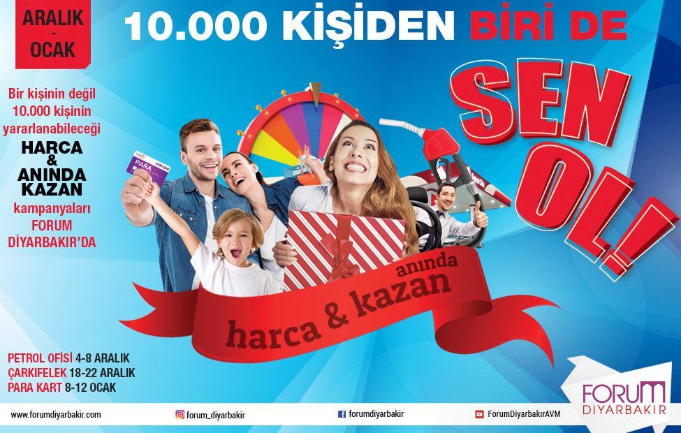 Forum Diyarbakır Harca Anında Kazan Kampanyası!