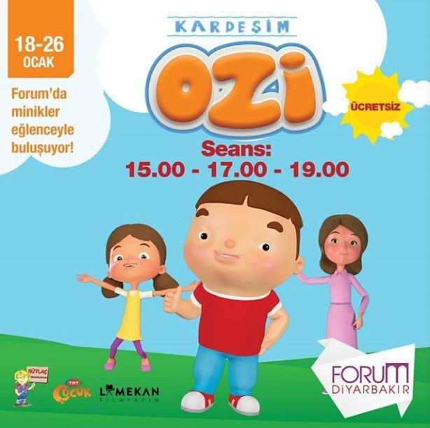 Forum Diyarbakır Kardeşim Ozi Tiyatro Etkinliği!