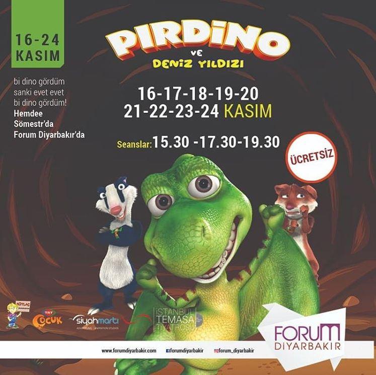 Forum Diyarbakır Pırdino ve Deniz Yıldızı Müzikal Etkinliği!