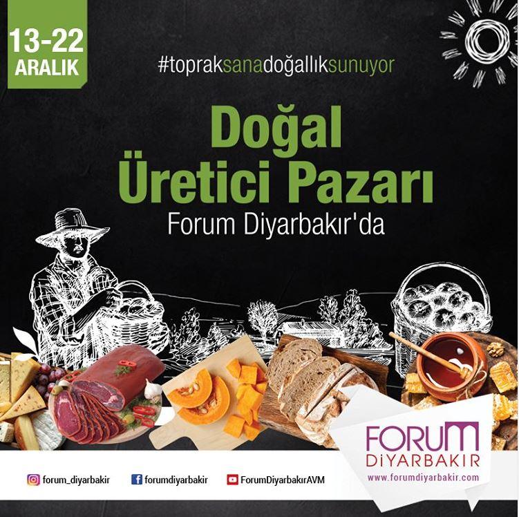 Forum Diyarbakır Doğal Üretici Pazarı!