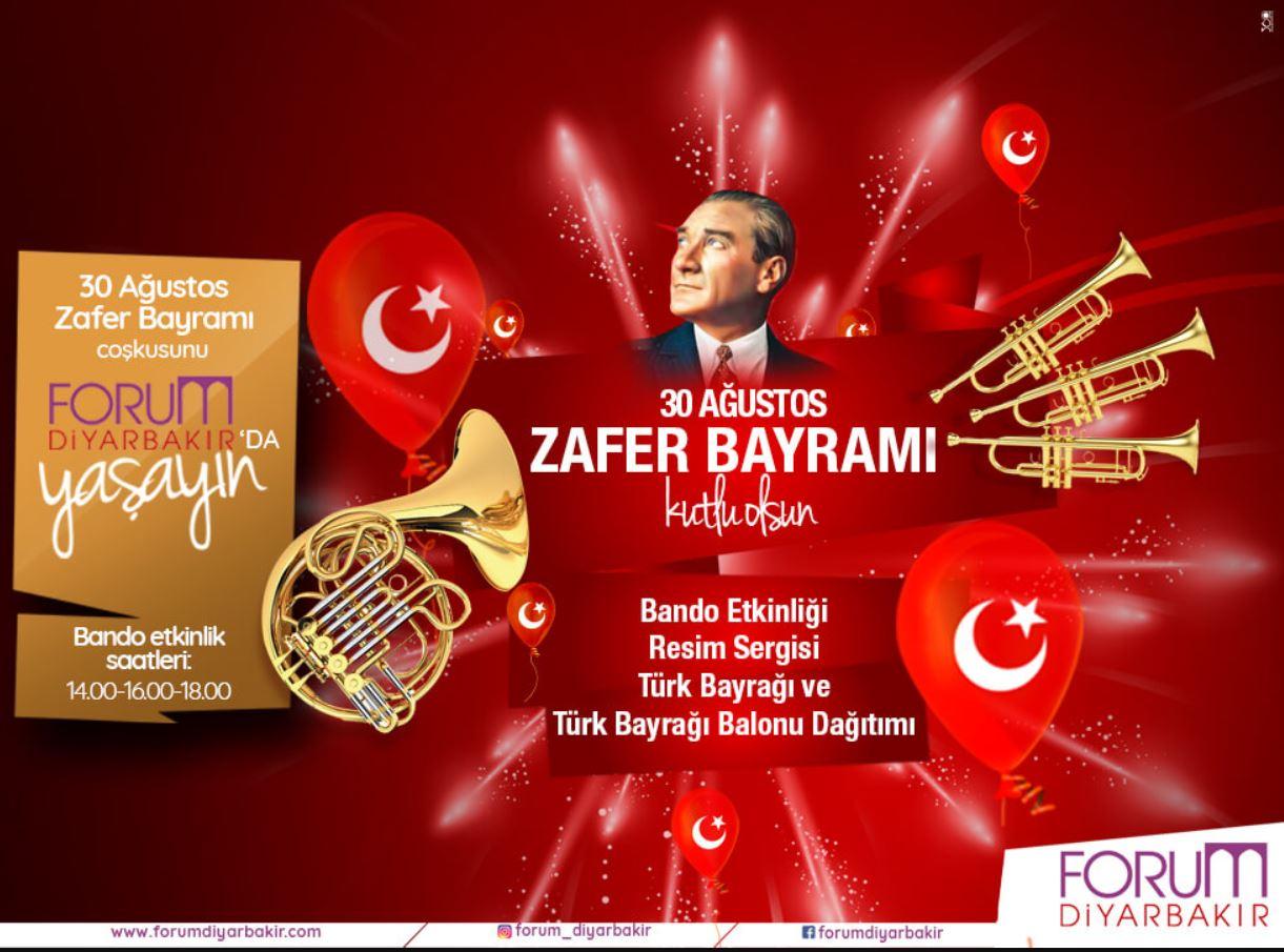 30 Ağustos Zafer Bayramı coşkusu Forum Diyarbakır'da!
