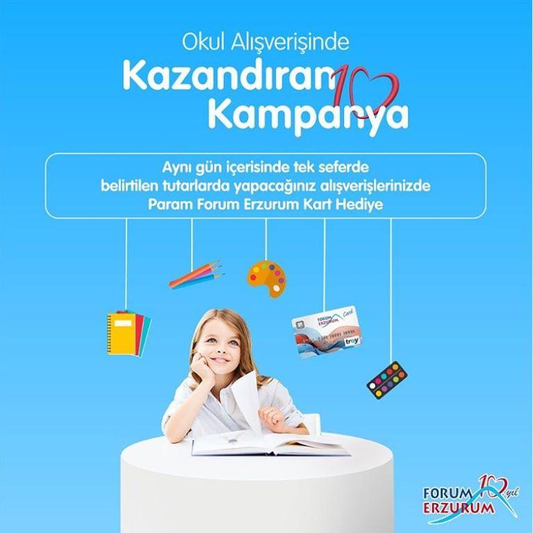 Forum Erzurum'dan Kazandıran Kampanya!