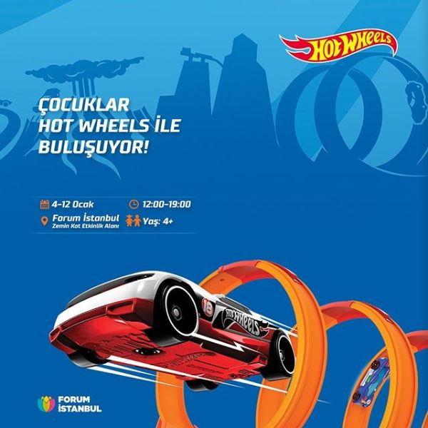 Forum İstanbul Hot Wheels Etkinliği!