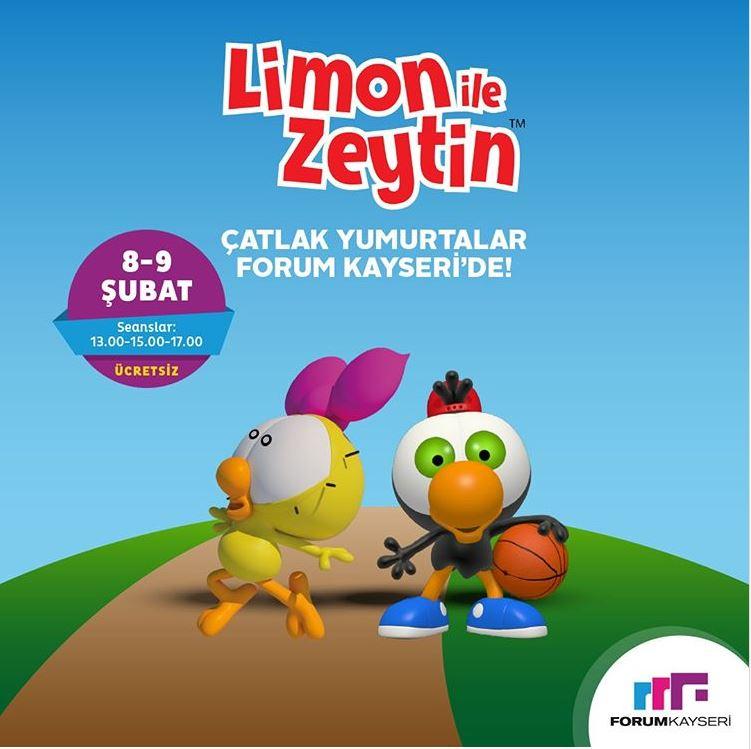 Limon ve Zeytin Forum Kayseri'de miniklerle buluşuyor!