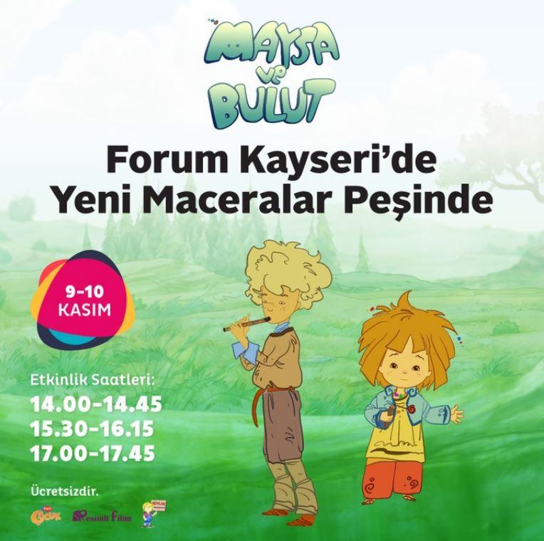 Forum Kayseri Maysa ve Bulut Müzikal Etkinliği!