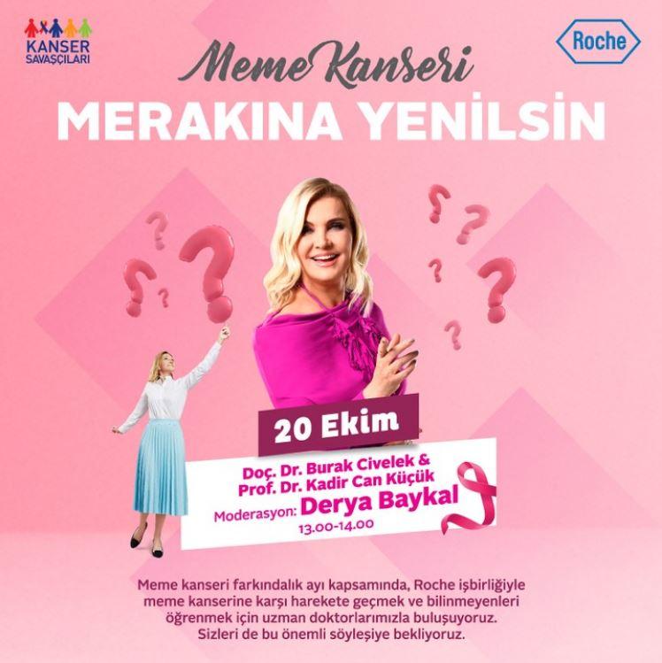 Forum Kayseri ile Meme Kanseri Merakına Yenilsin!