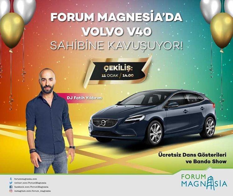 Forum Magnesia Volvo V40 Çekilişi Gerçekleşiyor!